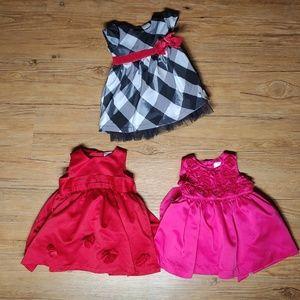 Beautiful baby fancy dresses bundle lot infant